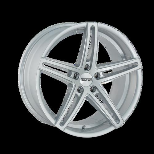 Touren TR73 Gloss Silver/Milled Spokes 20X8.5 5-120 30mm 74.10mm