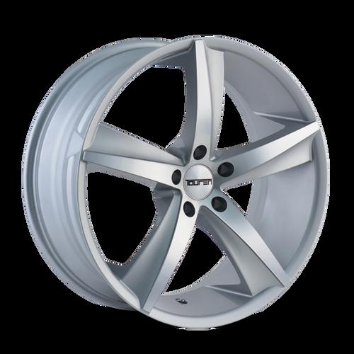 Touren TR72 Gloss Silver/Machined Face 17X7.5 5-120 40mm 72.62mm
