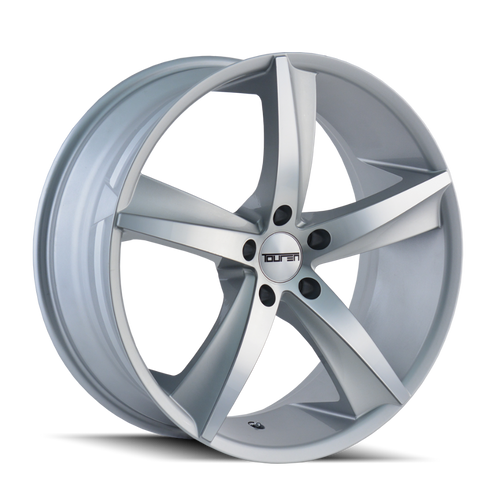 Touren TR72 Gloss Silver/Machined Face 17X7.5 5-112 40mm 72.62mm