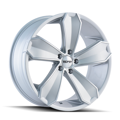 Touren TR71 Gloss Silver/Machined Face 20X8.5 5-120 20mm 74.1mm