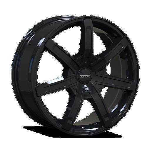 Touren TR65 Black 17x7.5 5-114.3/5-127 40mm 72.62mm