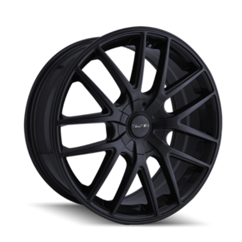 Touren TR60 Full Matte Black 17x7.5 5-112/5-120 42mm 72.62mm