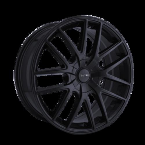 Touren TR60 Full Matte Black 17x7.5 5-105/5-114.3 42mm 72.62mm