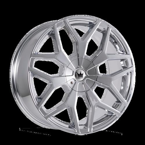 Mazzi 367 Profile Chrome 24x9.5 6-135/6-139.7 30mm 106mm