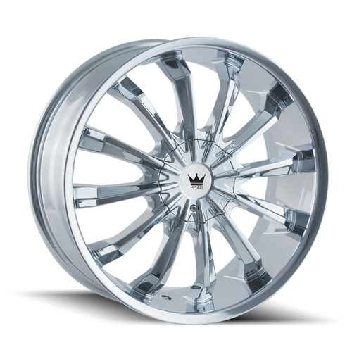 Mazzi 341 Fusion Chrome 22X9.5 6-135/6-139.7 30mm 106mm