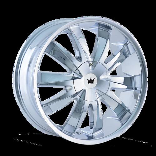 Mazzi 337 Edge Chrome 22X8.5 5-115/5-120 18mm 74.1mm