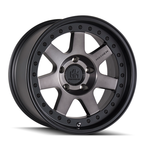 Mayhem Prodigy 8300 Matte Black w/ Dark Tint 18x9 6-139.7 0mm 106mm