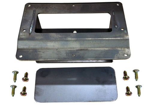 1994 to 2003 Chevy S10/Sonoma Shaved Tailgate Handle Relocator