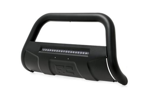 Nissan Bull Bar w/LED Light Bar | Black (05-19 Frontier)