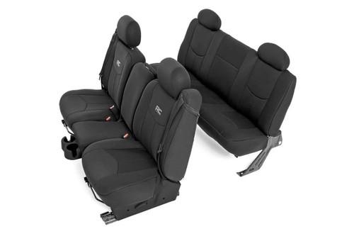 Chevy Neoprene Seat Covers   Black [99-06 1500]