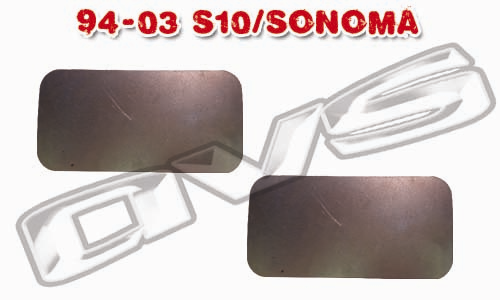 94-03 Chevy S10/Sonoma AVS Shaved Door Handle Filler Plate