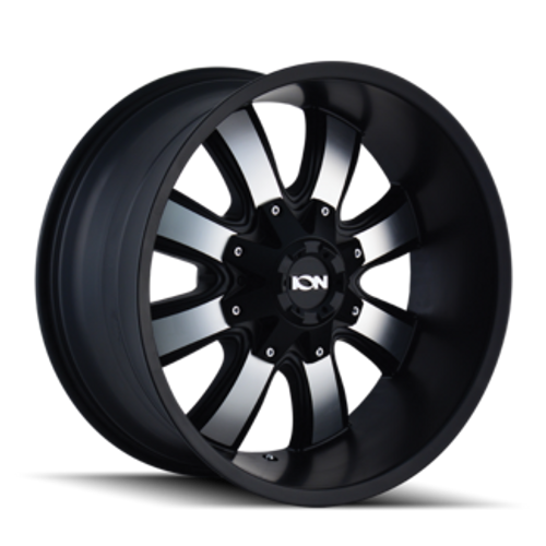 ION 189 Satin Black/Machined Face 18X9 5-114.3/5-127 0mm 87mm