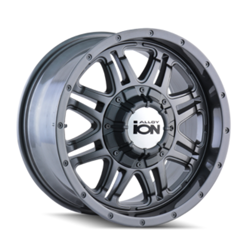 ION 186 Gunmetal 18X9 6-135/6-139.7 -12mm 108mm