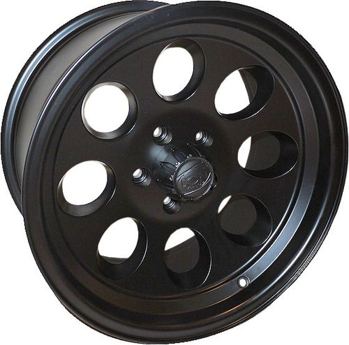 Ion 171 Matte Black 17X9 5-139.7 0mm 108mm