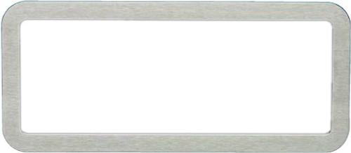 Brushed Aluminum Bezel For Designer Gauge Series VFD3-1007