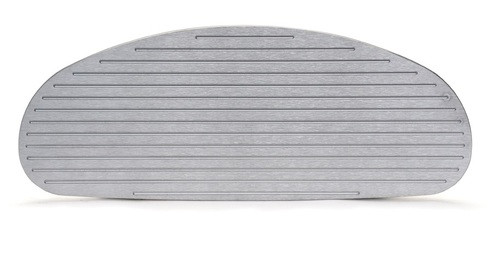 1933-34 Chevy Master Brushed Aluminum Glove Box Door