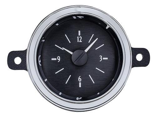 1949-50 Ford Car Analog Clock Black Alloy Background