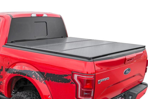"""Copy of Hard Tri-Fold Bed Cover (15-18 Ford F-150)(6'6"""" Bed w/o Cargo Management System)"""