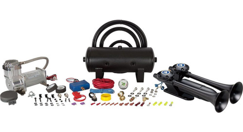 Dolphin Air Horn Kit - 2 Gal Tank (Separated Tank & Compressor)