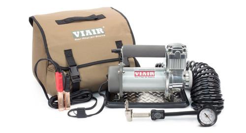 Viair 400P Automatic Portable Air Compressor w/ 25 FT Coil Hose & Tire Chuck
