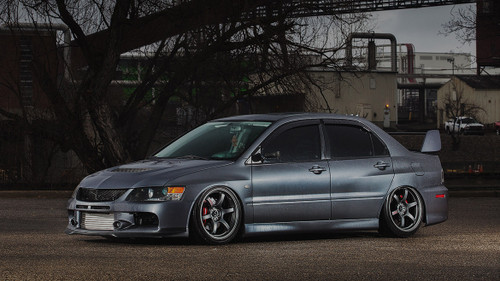 2001-2007 Mitsubishi Lancer Evolution (7/8/9) Air Lift Kit with Manual Air Management