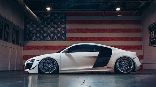2008-2015 Audi R8 Air Lift Kit with Manual Air Management