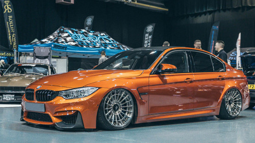 2015-2018 BMW M3/M4 (5 Bolt) Air Lift Kit with Manual Air Management