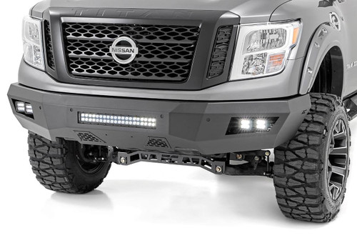 Nissan Heavy-Duty Front LED Bumper (16-19 Titan XD)