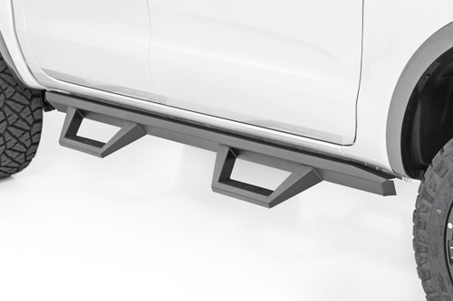 Ford XL2 Drop Steps (2019 Ranger Crew Cab) - mounted view
