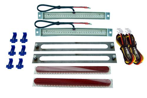 """7.5"""" Red L.E.D. Trail Light Kit"""