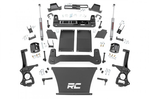 4in GM Suspension Lift Kit (19-20 GM 1500 Trailboss/AT4 PU 4WD)with strut spacers
