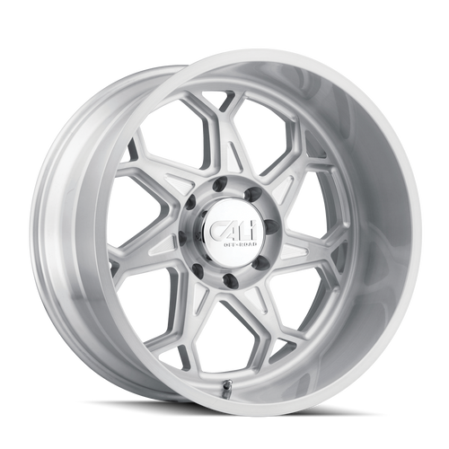 Cali Offroad Sevenfold Brushed & Clear Coated 20x9 6x5.50 0mm 106mm