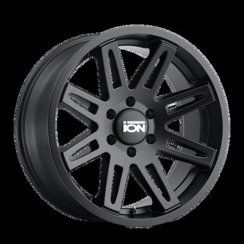 ION 142 Matte Black 17x9 5x127 -12mm 78.1mm