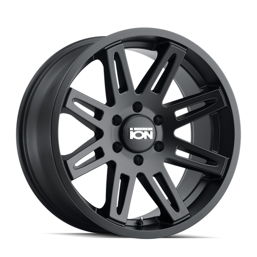 ION 142 Matte Black 20x9 5x139.7 0mm 87.1mm