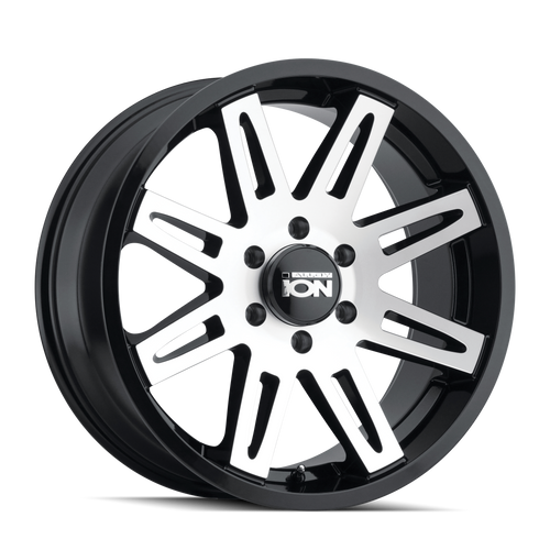 ION 142 Black w/ Machined Face 20x9 8x165.1 18mm 130.8mm
