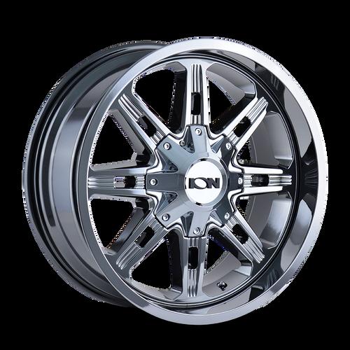 ION 184 PVD2 Chrome 20x9 6x135/6x139.7 18mm 106mm