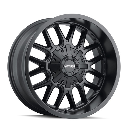 Mayhem Cogent Matte Black 20x9 6x135/6x139.7 -8mm 106mm