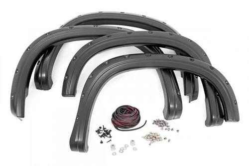 Chevy HD Pocket Fender Flares w/ Rivets (2020 Silverado 2500HD/3500HD)