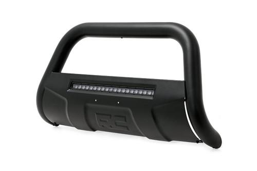 Dodge Ram 1500 (09-18)Bull Bar w/ LED Light Bar- Black w/ LED Light