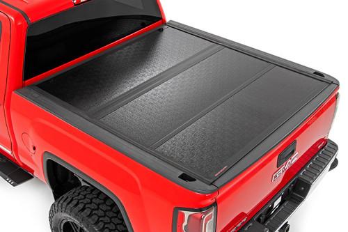GM Low Profile Hard Tri-Fold Tonneau Cover (14-18 1500, 15-19 2500/3500 HD)