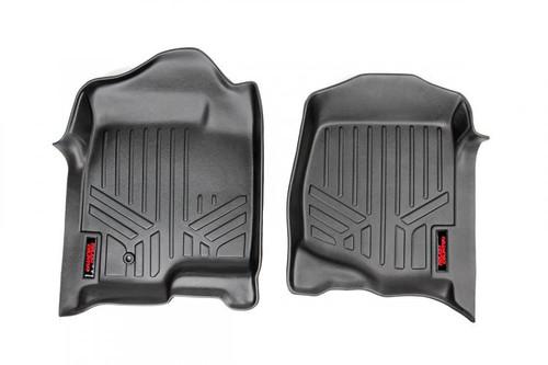 Chevy/GMC Heavy Duty Floor Mats (Front)-(07-13 Silverado/Sierra) Bucket Seats