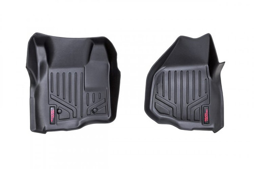 Ford Heavy Duty Floor Mats (Front)-(11-16 Super Duty/Depressed Pedal)