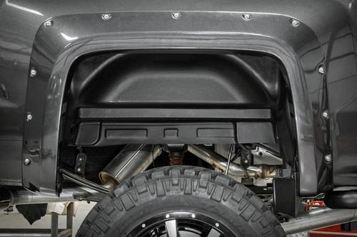 Chevrolet Rear Wheel Well Liners (11-14 2500HD/3500HD)