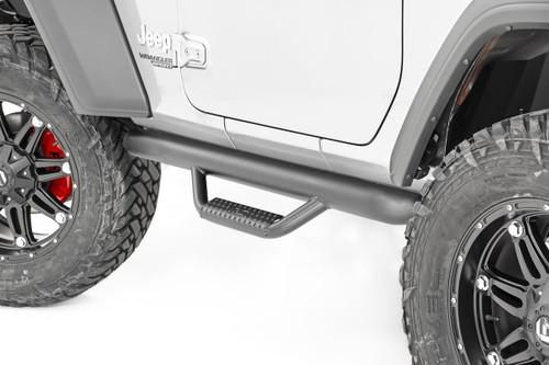Jeep Wheel to Wheel Nerf Steps (18-20 JL Wrangler 2-Door)