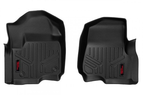 Heavy Duty Floor Mats (Front)(17-20 Ford Super Duty) Bucket Seats