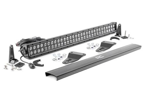 Toyota 30IN LED Hidden Grille Kit (14-20 4-Runner) - Black Series