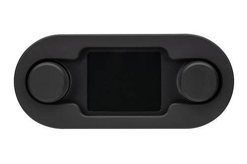 HDX/RTX Style Climate Controls Air Gen-IV Black Bezel with Black Alloy