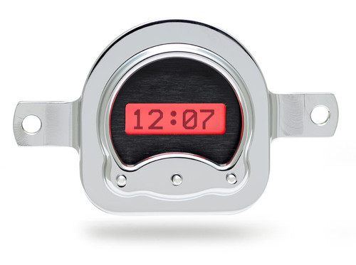 1951 Ford Car VHX Digital Clock - Black Alloy Background