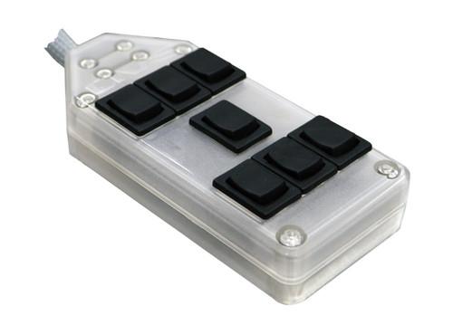 AVS ARC Iced Air Ride Controller Rocker 7 Switch w/LED Lights