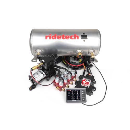 "RidePro E5 Air Ride Suspension Control System | 3 Gallon Single Compressor - 1/4"" Valves"
